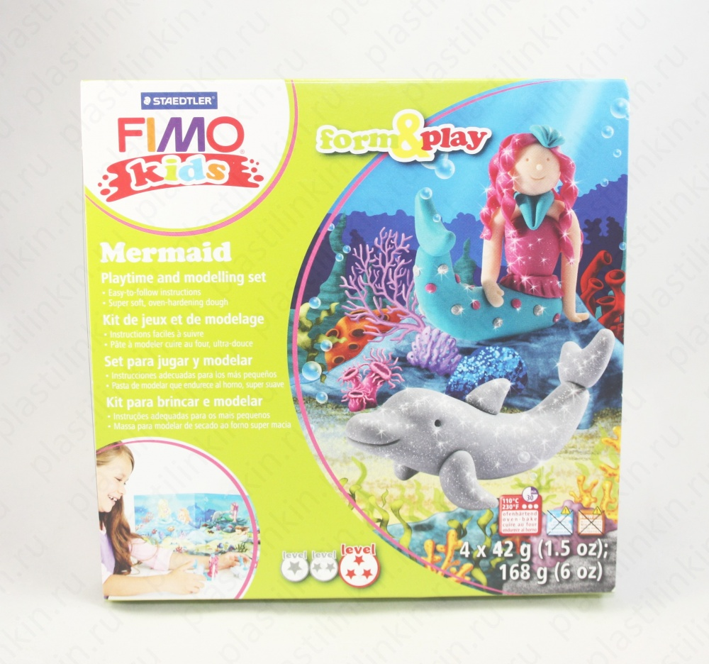 Набор Fimo kids form&play. Русалочка.