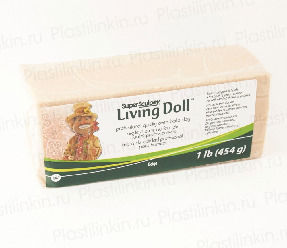 Sculpey Living Doll, бежевый